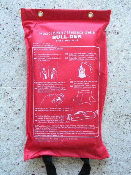 Hasící deka BULL-DEK 1,2 x 1,8 m