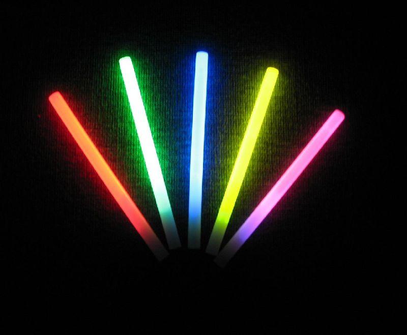 Svítící tyčka - Longer 38 cm - ŽLUTÝ
